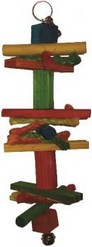 toy wood 2 parkiet 26cm